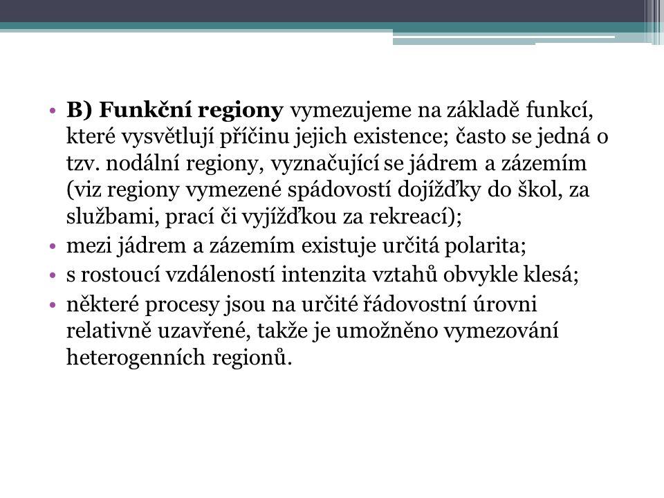 procesy, které integrují region do jednoho celku nazýváme regionální procesy.