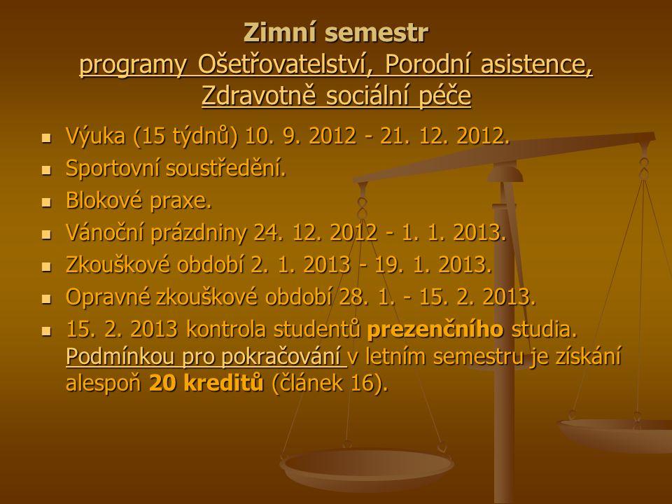 Letní semestr programy Filologie, Specializace v pedagogice/Pedagogika Výuka (14 týdnů) 4.