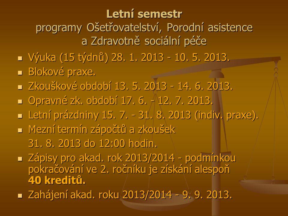 Osobní složka studenta Předzápis na předměty.Předzápis na předměty.