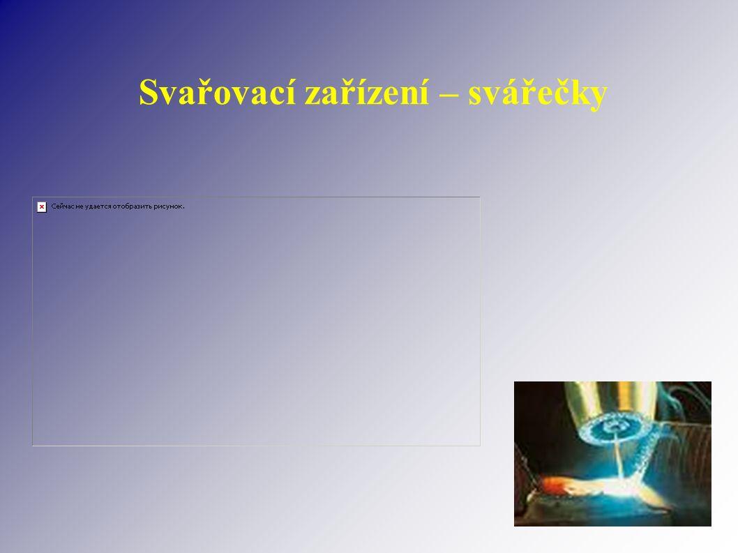 Svařovací zařízení – svářečky