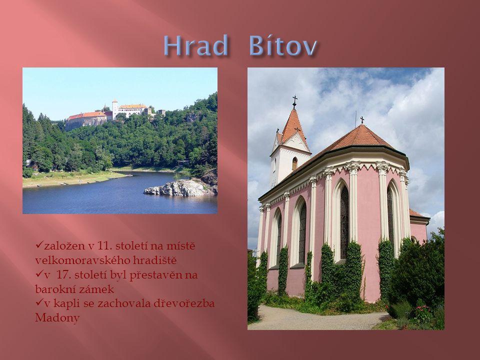 založen v 11. století na místě velkomoravského hradiště v 17.
