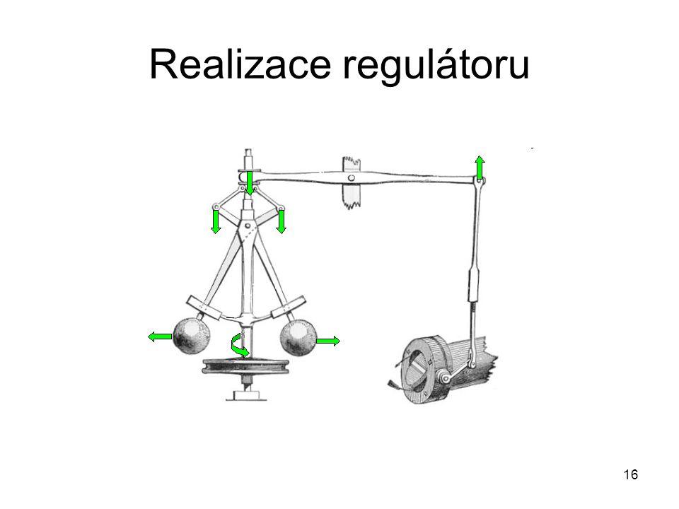 Realizace regulátoru 16