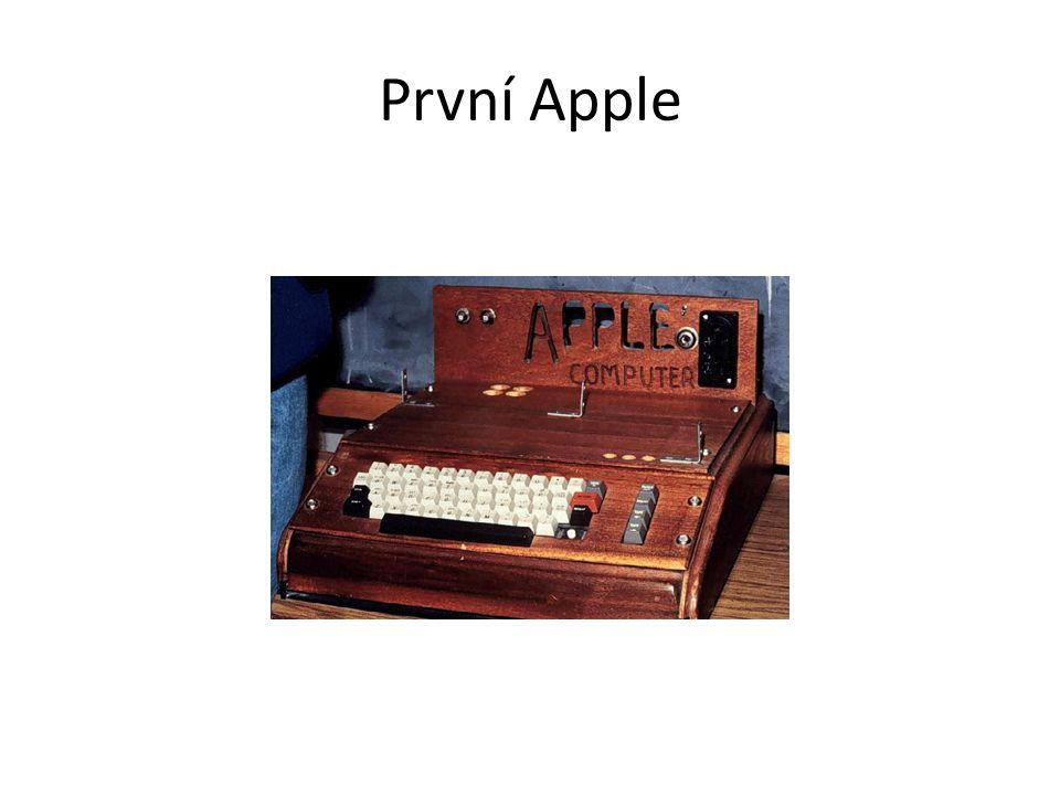 První Apple