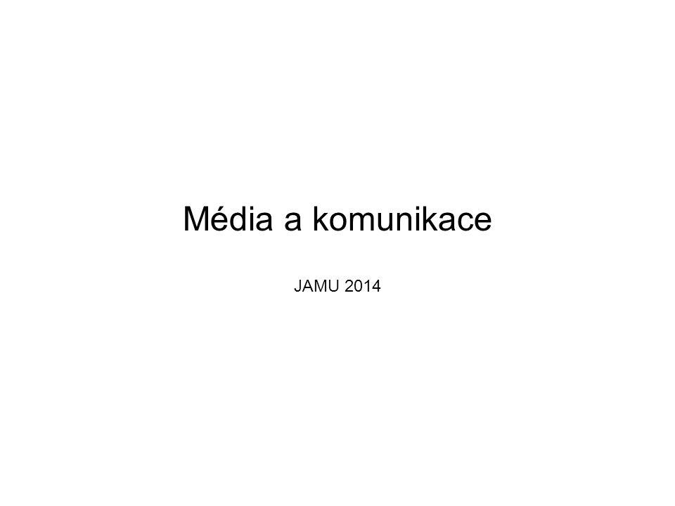 Média a komunikace JAMU 2014