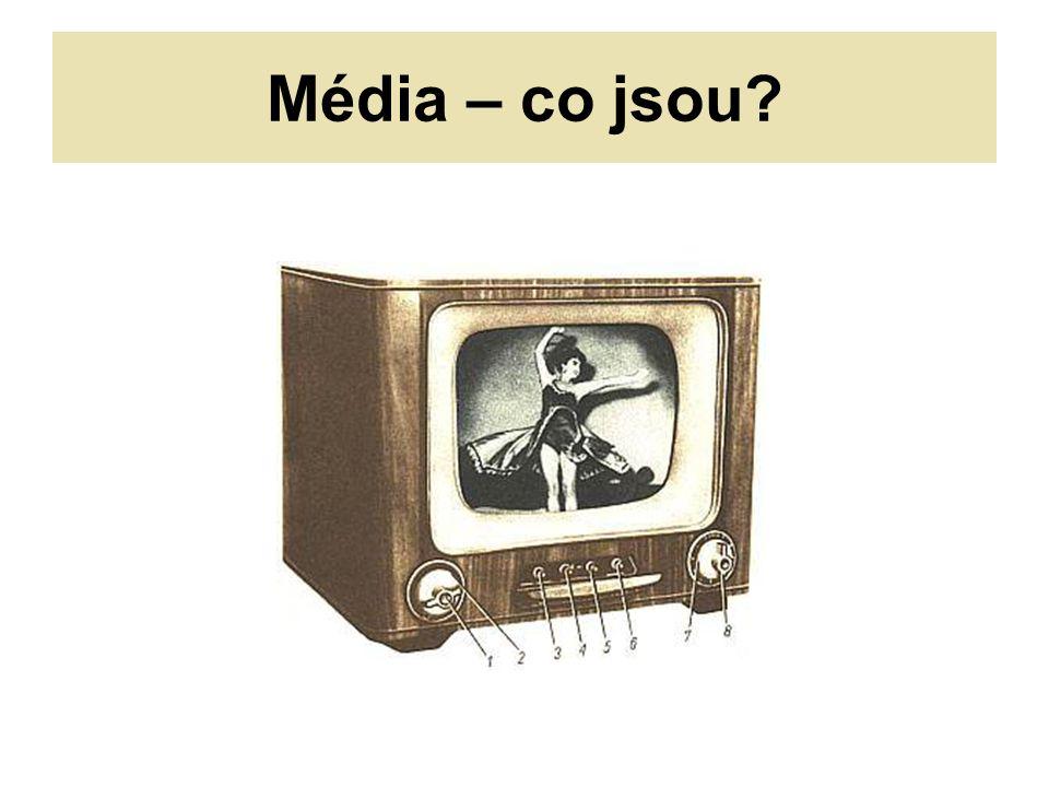 Média – co jsou