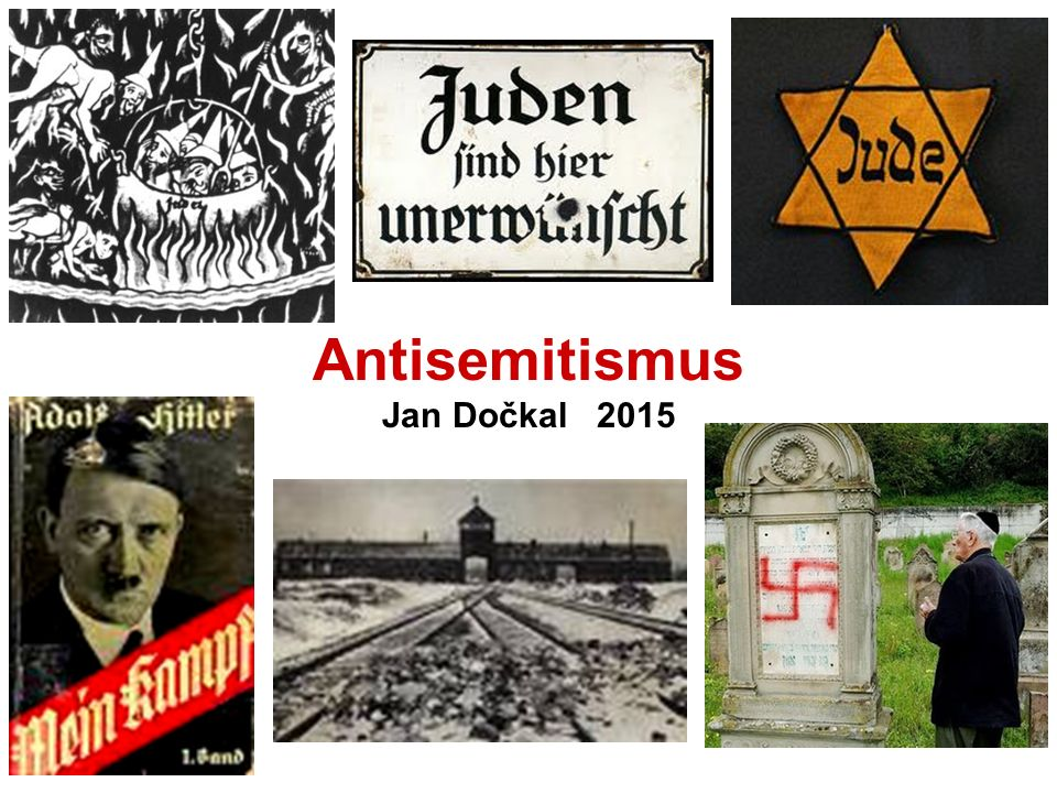 Antisemitismus Jan Dočkal 2015