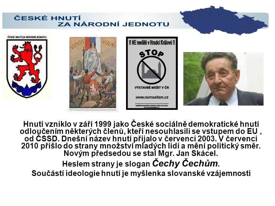 Hnutí vzniklo v září 1999 jako České sociálně demokratické hnutí odloučením některých členů, kteří nesouhlasili se vstupem do EU, od ČSSD.