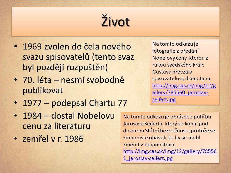 ŽivotŽivot Místo posledního odpočinku básníka Jaroslava Seiferta na městském hřbitově v Kralupech nad Vltavou.