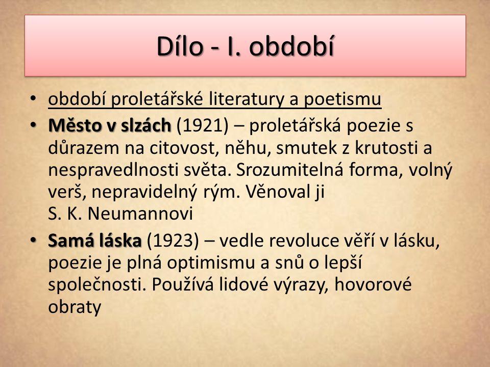 Dílo - I.