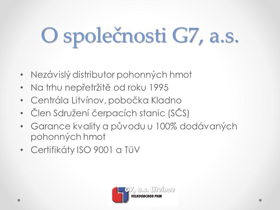 O společnosti G7, a.s.