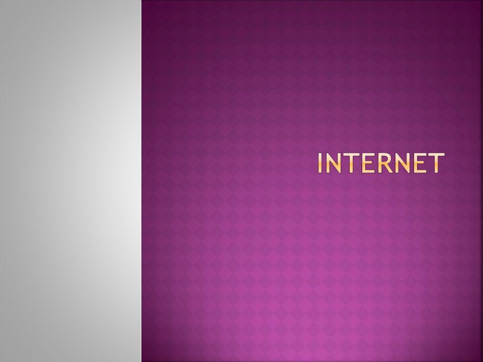  = jedná se o vzájemné propojení lokálních počítačových sítí pomocí vysokorychlostních datových spojů  vznikl spojením mnoha menších sítí  v každé síti existuje jeden či více hlavních počítačů, na kterých se ukládají data  Přenos informací mezi počítači, které jsou určeny svými jednoznačnými adresami, se děje PAKETOVÝM PRINCIPEM