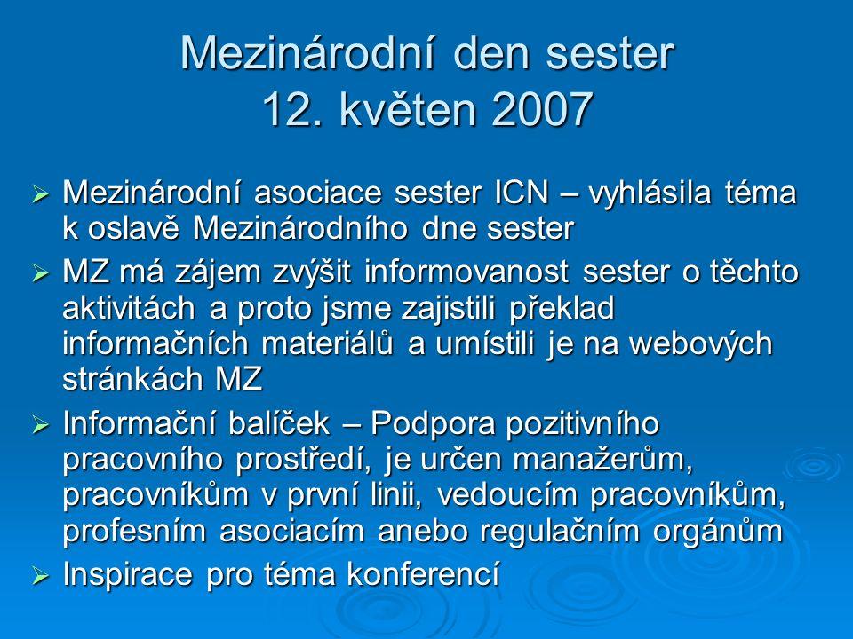 Mezinárodní den sester 12.