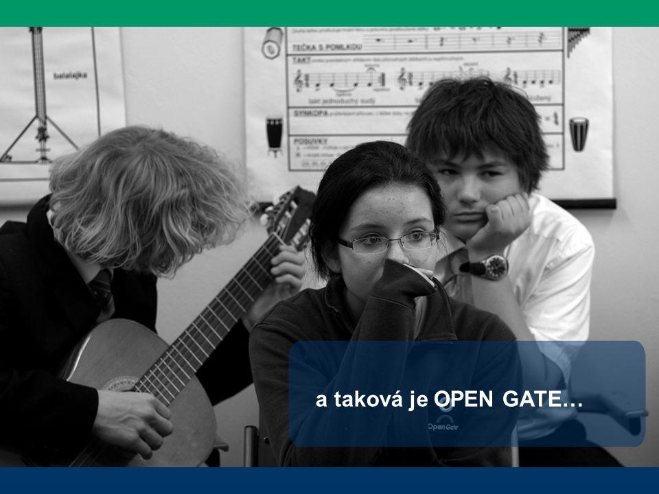 a taková je OPEN GATE…