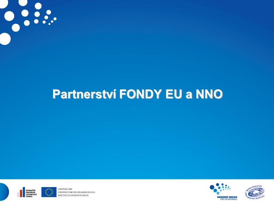 23 Partnerství FONDY EU a NNO