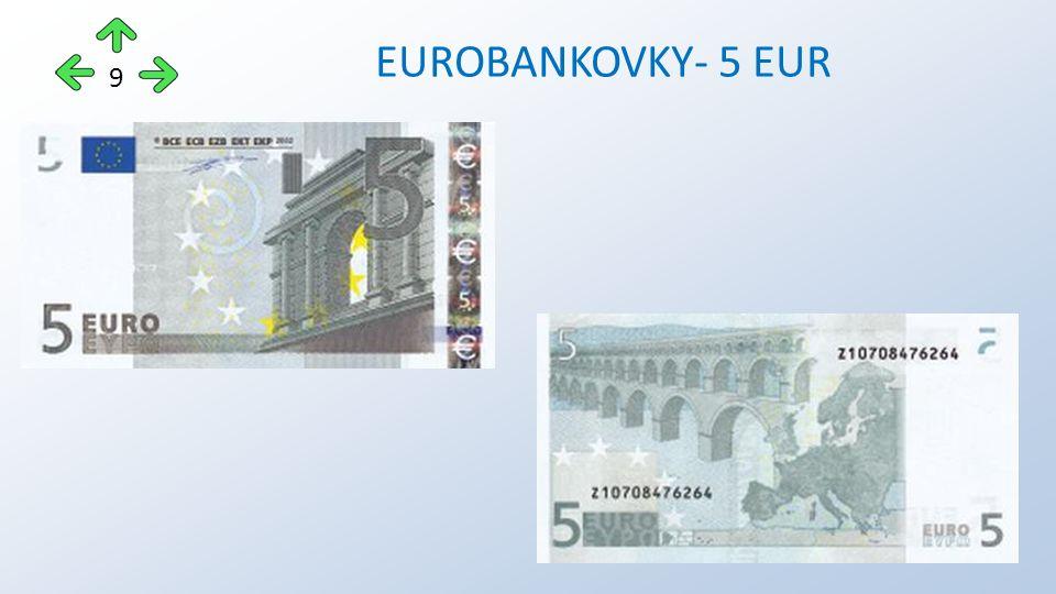 EUROBANKOVKY- 5 EUR 9