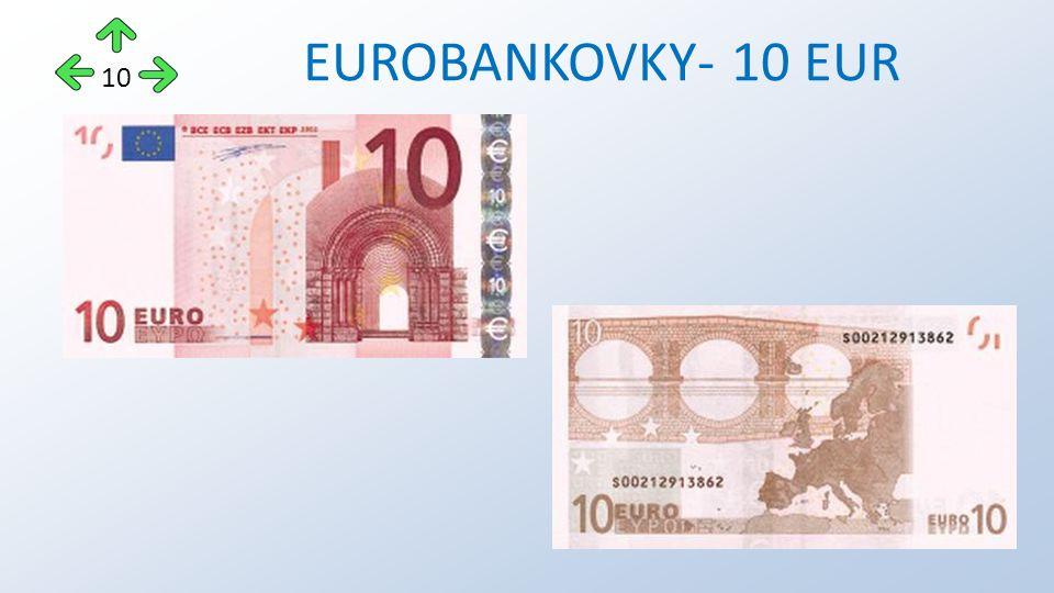 EUROBANKOVKY- 10 EUR 10