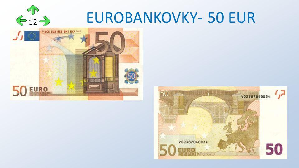 EUROBANKOVKY- 50 EUR 12