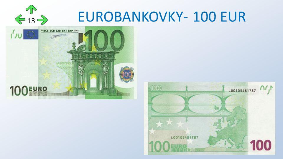 EUROBANKOVKY- 100 EUR 13