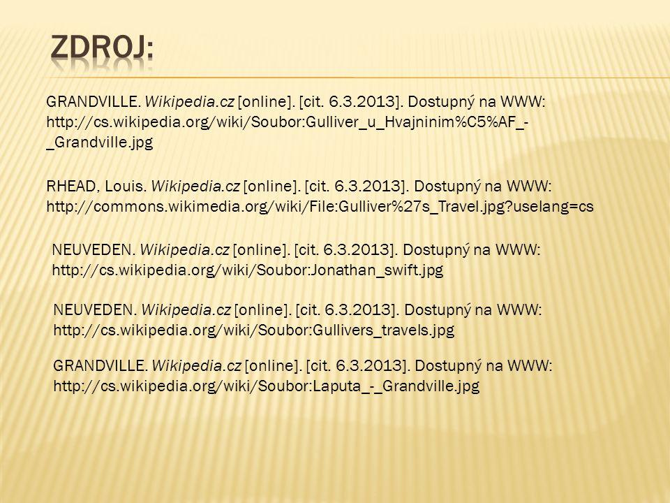 GRANDVILLE. Wikipedia.cz [online]. [cit. 6.3.2013].