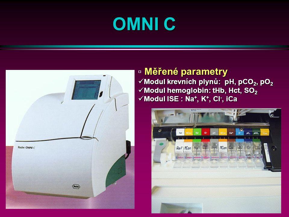 23 Stat Profile pHOx Plus Manipulace s elektrodami Saturace 7 λ-reflexe