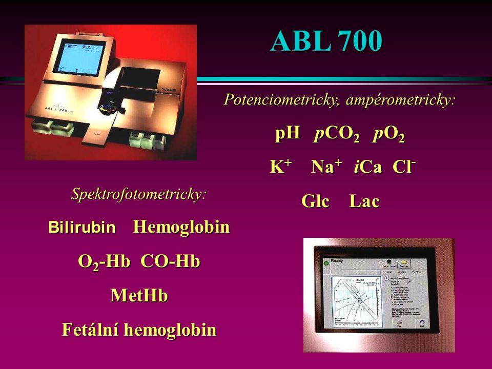34 Panely parametrů BG panel pCO 2, pO 2, pH, tHb, SO 2 ISE panel Na +, K +, iCa, Cl -, Hct Substráty Glc-Lac-Urea-Creat-Bil 60 vzorků / h Objem vzorku: Maximálně - 200 µl 68 µl - senzorová limitace 90 µl - bez senzorové limitace Modulární systém OMNI S