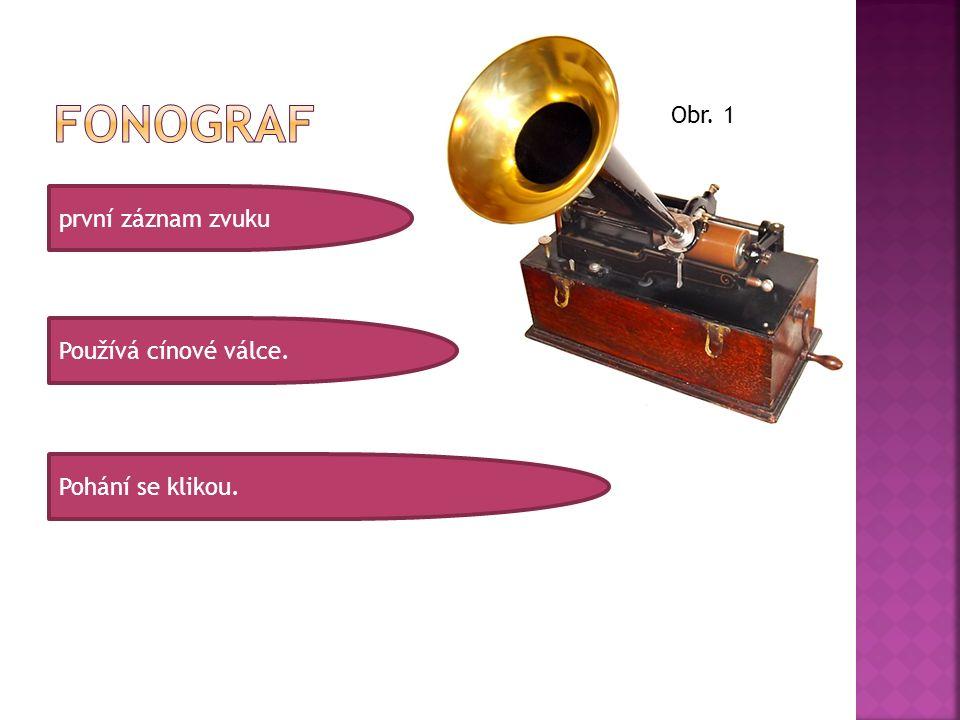 Původně se zvuk nahrával na zmagnetizovaný drát.