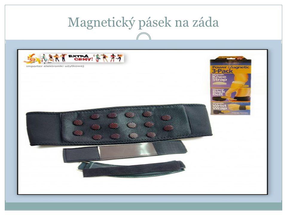 Magnetický pásek na záda