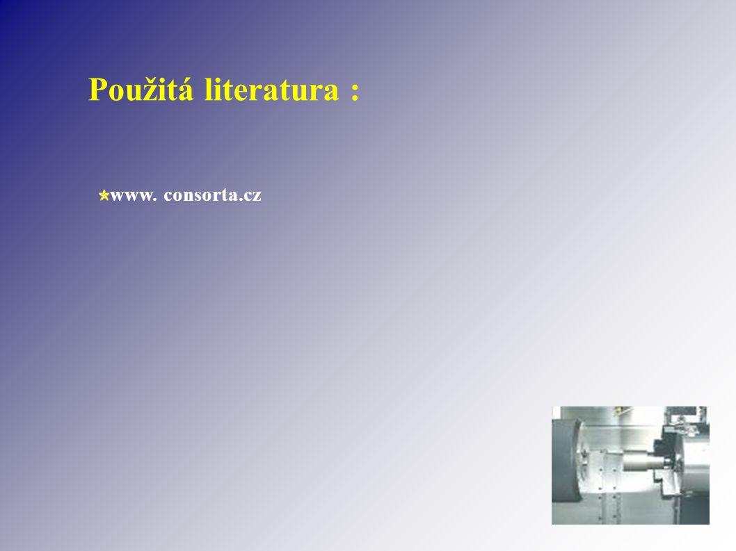 Použitá literatura : www. consorta.cz