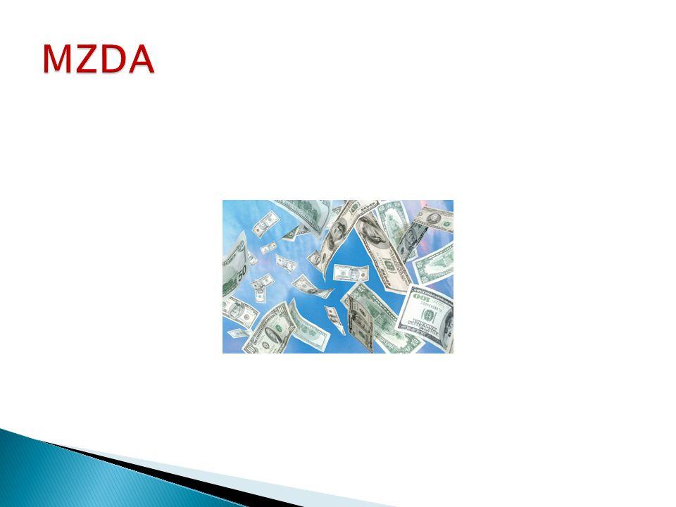 HRUBÁ MZDA + zdravotní pojištění (ZPF) + sociální pojištění (SPF) = SUPERHRUBÁ MZDA SUPERHRUBÁ MZDA * Sazba daně 15 % = záloha na daň z příjmu Hrubá mzda - Záloha na daň z příjmů + Slevy na dani + Daňové zvýhodnění - Sociální pojištění (SP) - Zdravotní pojištění (ZP) = ČISTÁ MZDA