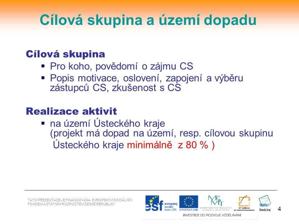 15 5.Profesní životopisy klíčových pracovníků RT řízení projektu, klíčové odborné pozice - i za partnera (+ souhlas osoby podílet se na realizaci) / http://europass.cedefop.europa.eu/cs/home a výsledků /http://europass.cedefop.europa.eu/cs/home a výsledků / 6.Doklad prokazující soustavnou vzdělávací činnost v období min.