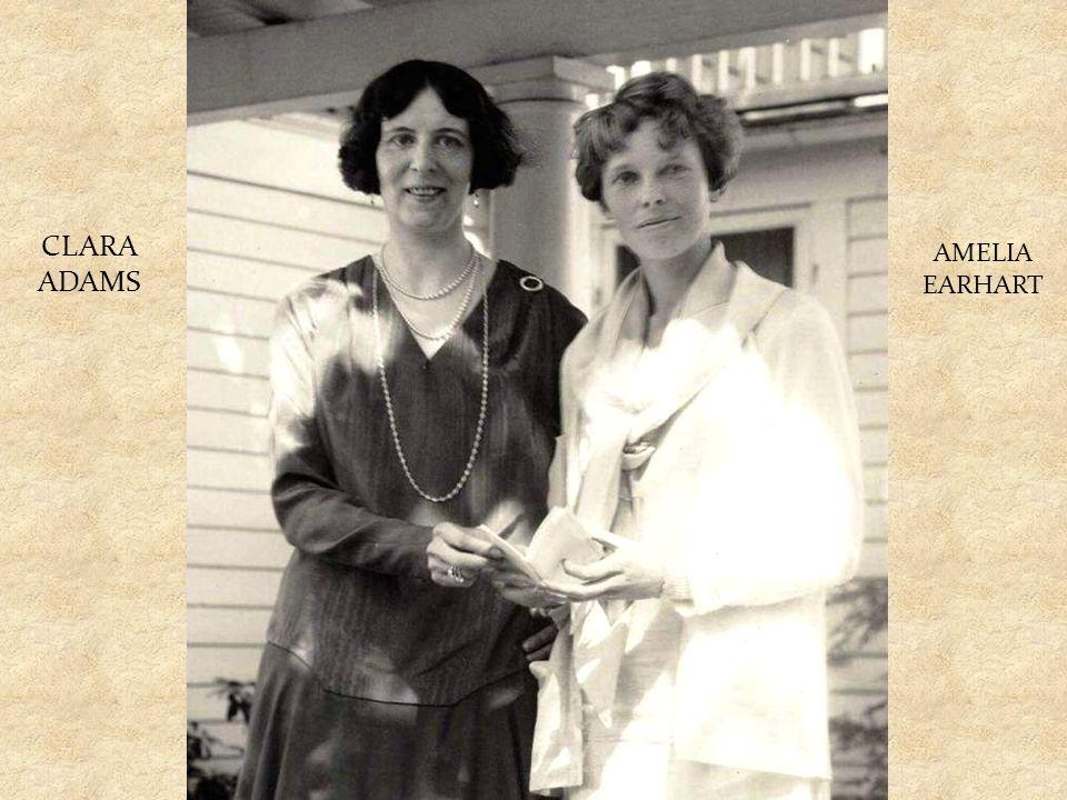 V roce 1939 se Clara Adams stala první ženou cestujících letecky kolem světa.