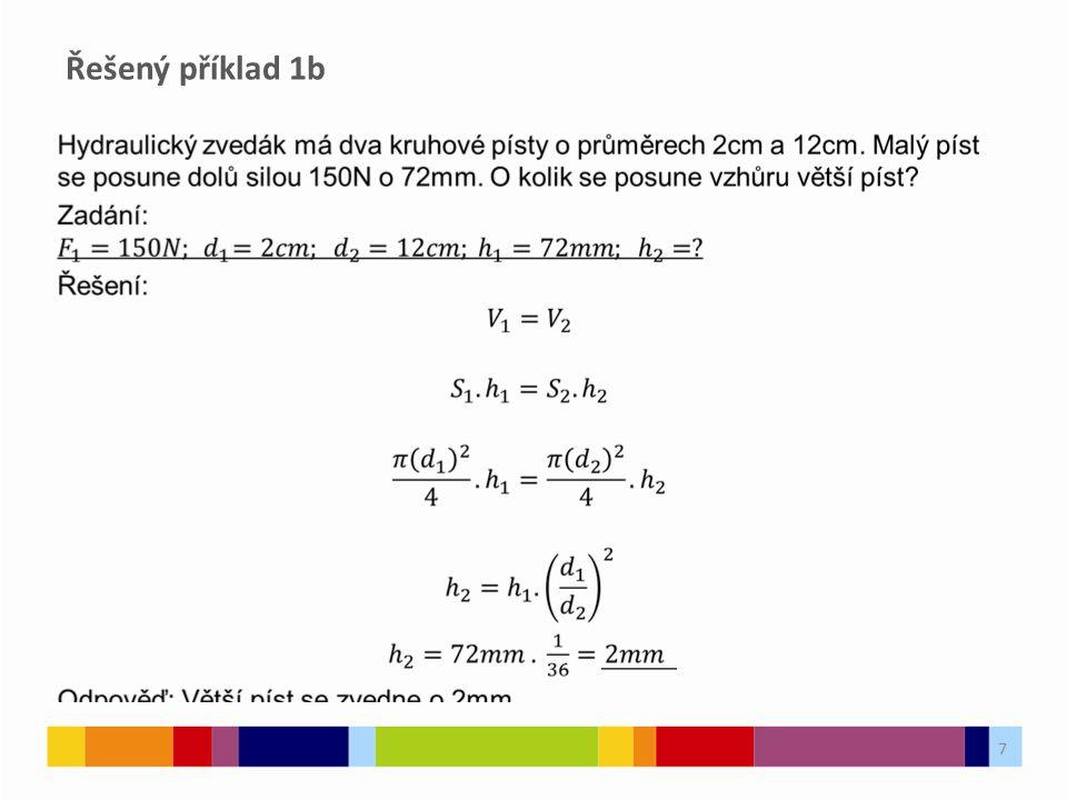Řešený příklad 1b 7