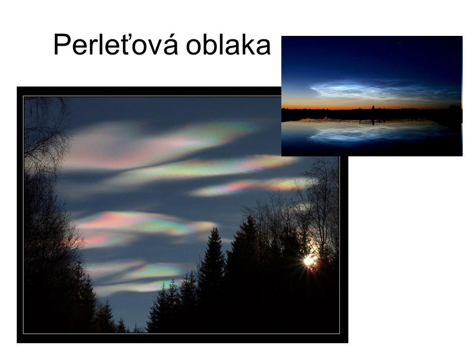 Perleťová oblaka