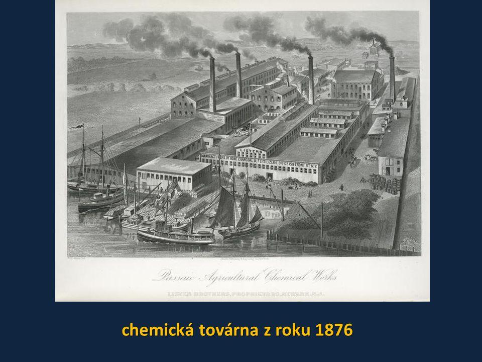 chemická továrna z roku 1876