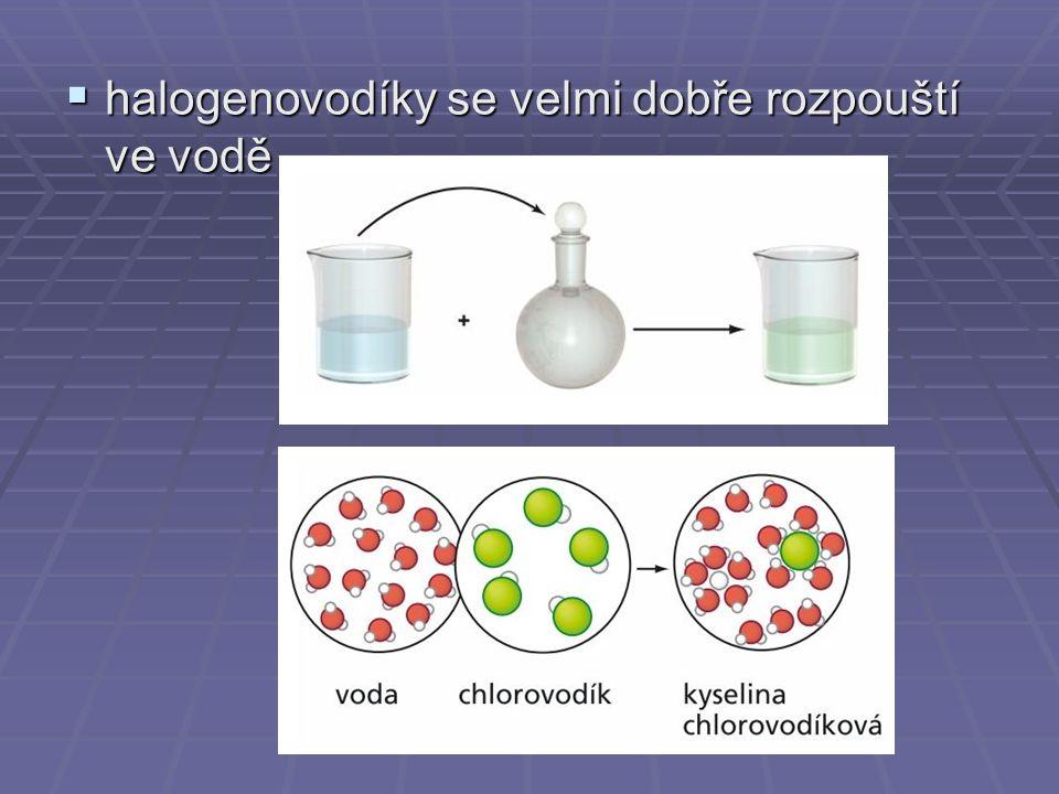 Látky, které v roztocích odštěpují vodíkový kation H +, se nazývají kyseliny.