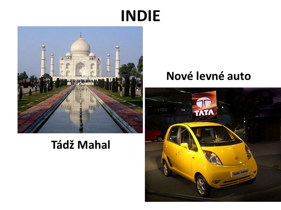 INDIE NOVÉ LEVNÉ Nové levné auto Tádž Mahal