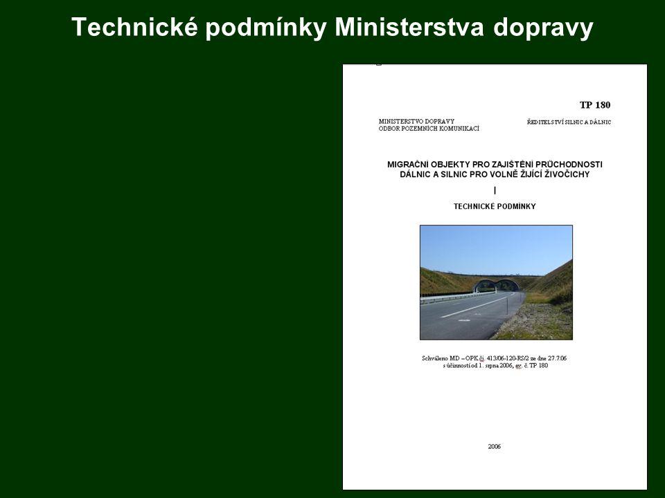 Technické podmínky Ministerstva dopravy