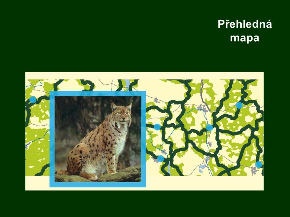 Přehledná mapa