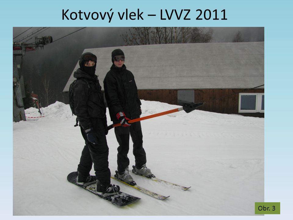 Kotvový vlek – LVVZ 2011 Obr. 3