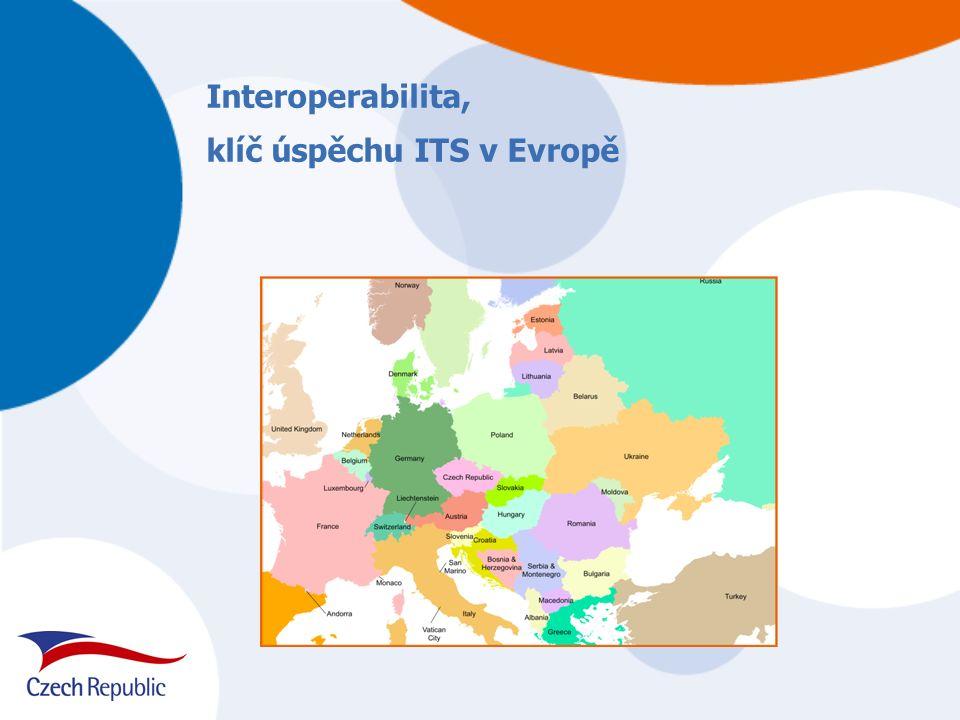 Interoperabilita, klíč úspěchu ITS v Evropě