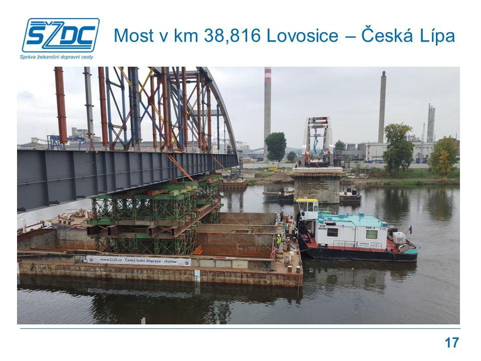 Most v km 38,816 Lovosice – Česká Lípa 17