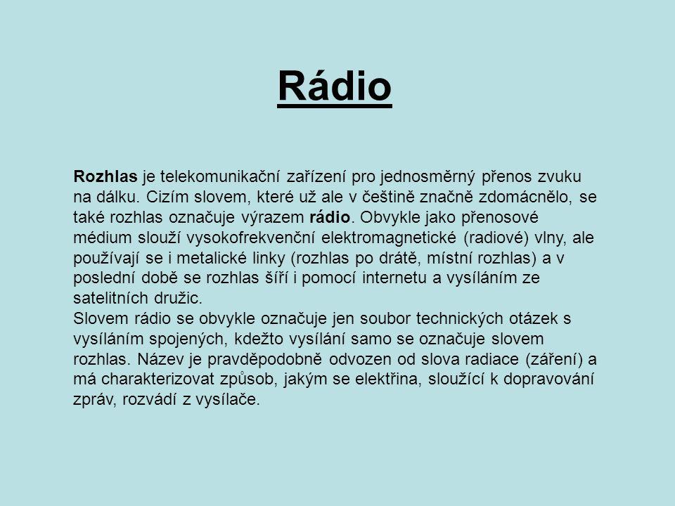 Princip Přenášený zvuk je tvořen signály různých (akustických) frekvencí, které jsou nejprve převáděny na elektrické signály.