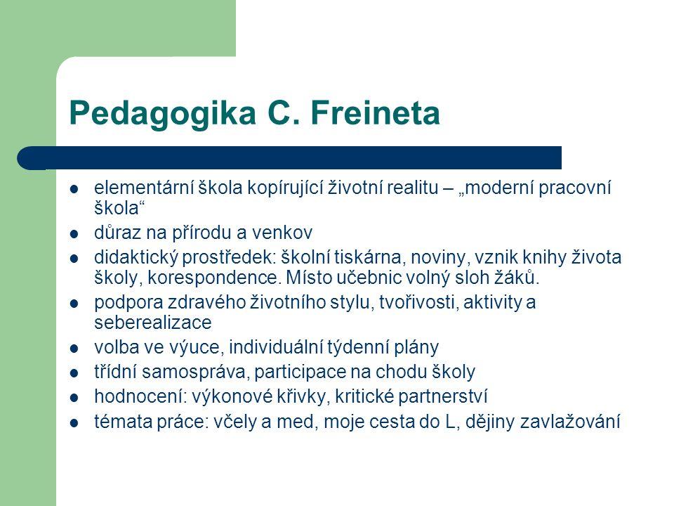 Pedagogika C.