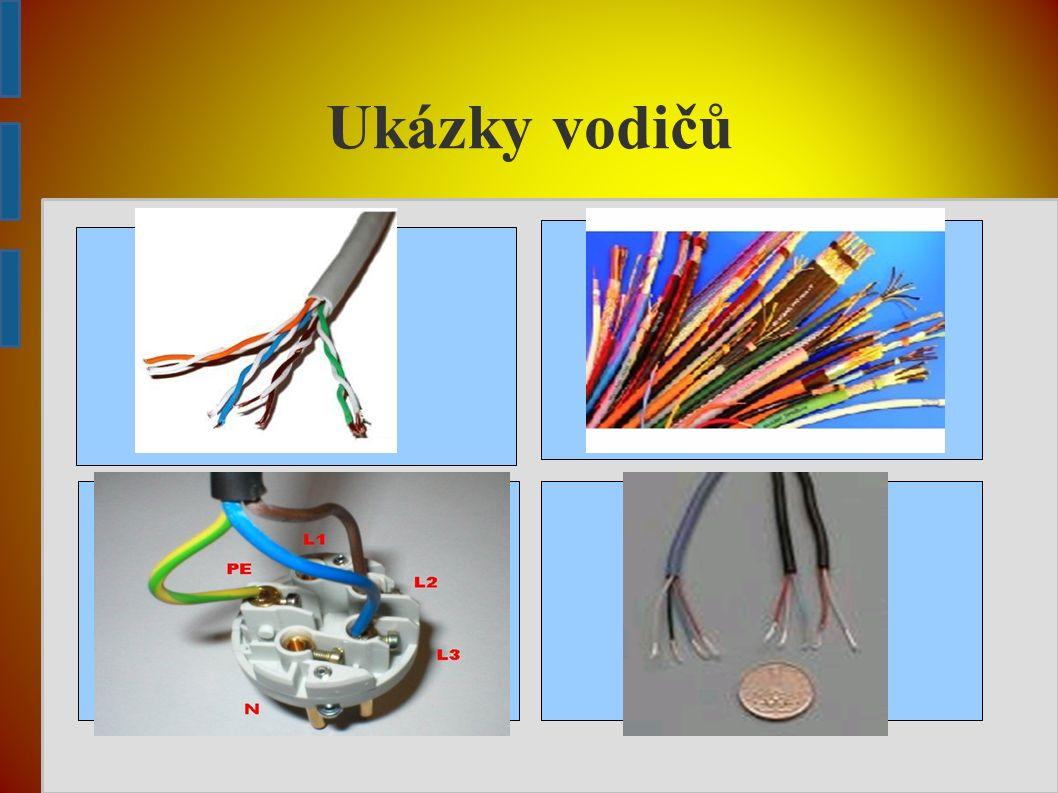 Vypínače ➔ slouží k vypínání a zapínání přístrojů, světla atd.