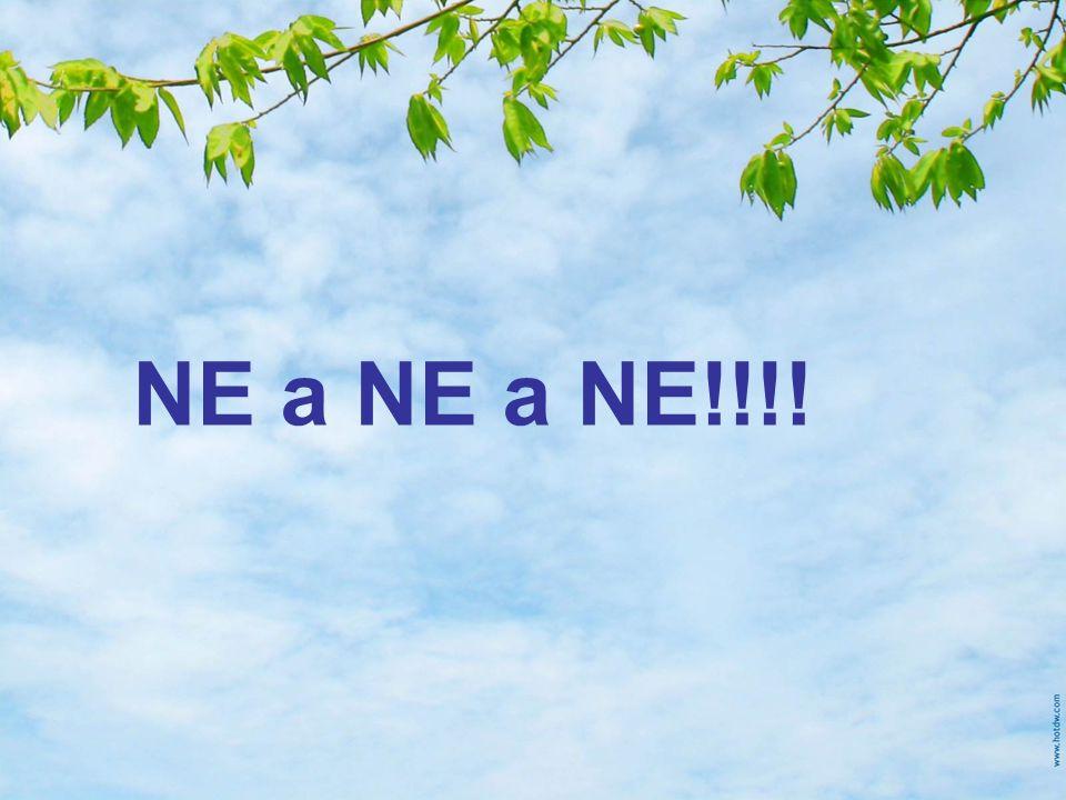 NE a NE a NE!!!!