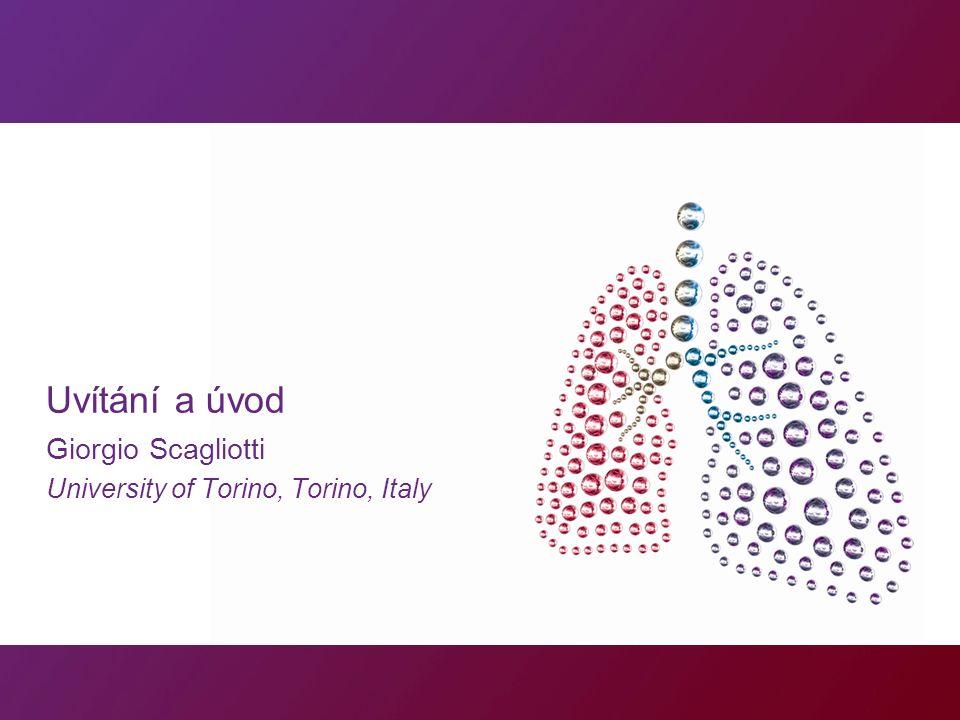 Uvítání a úvod Giorgio Scagliotti University of Torino, Torino, Italy