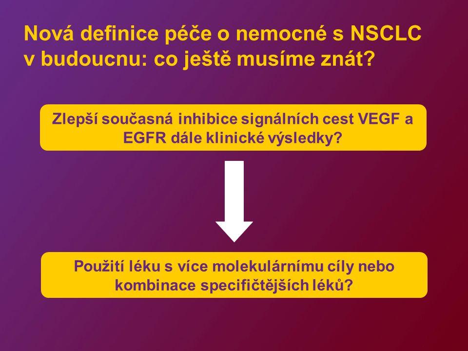 Formování budoucnosti léčby pokročilého NSCLC