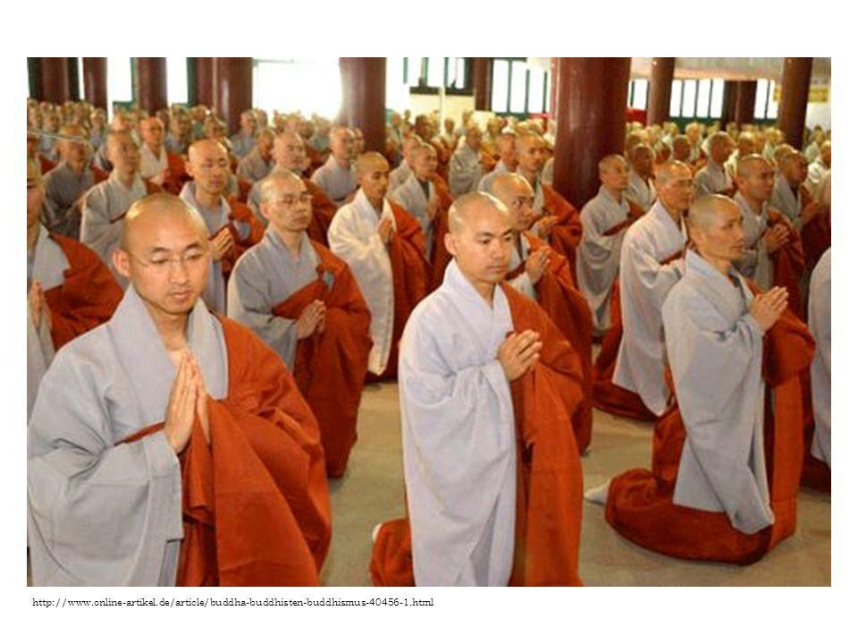 Buddhismus Buddhismus nezná existenci jednoho Boha a nepřipouští pojem duše.