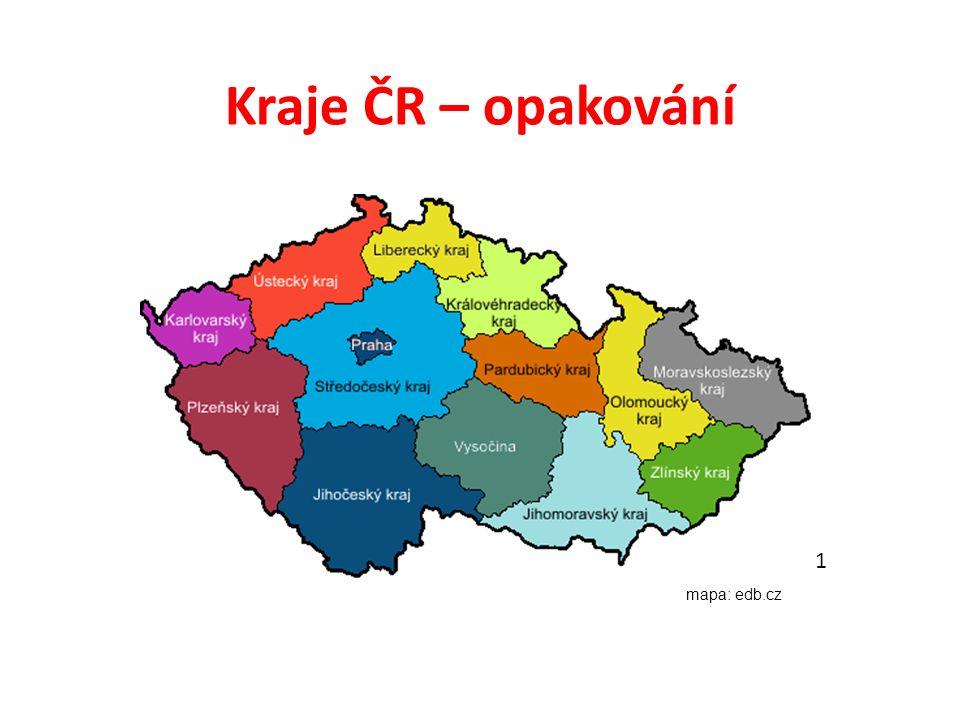 Doplň do textu Pokud bychom se chtěli vydat z nejzápadnějšího bodu v ČR do nejvýchodnějšího, začali bychom v …………… kraji a skončili v …………..