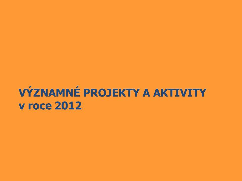 VÝZNAMNÉ PROJEKTY A AKTIVITY v roce 2012